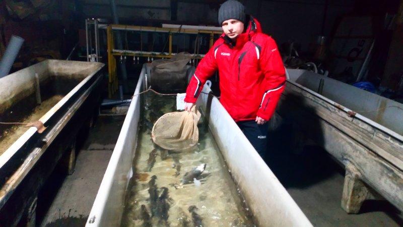 Разведение рыбы по новым технологиям: преподаватели ЮУрГАУ прошли стажировку на рыбозаводе