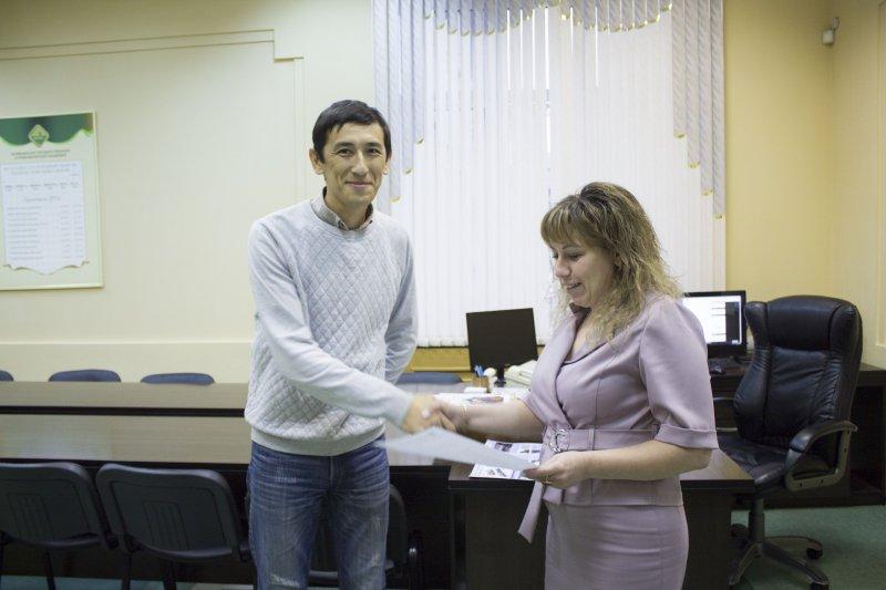 В ЮУрГАУ прошел стажировку докторант из Казахстана