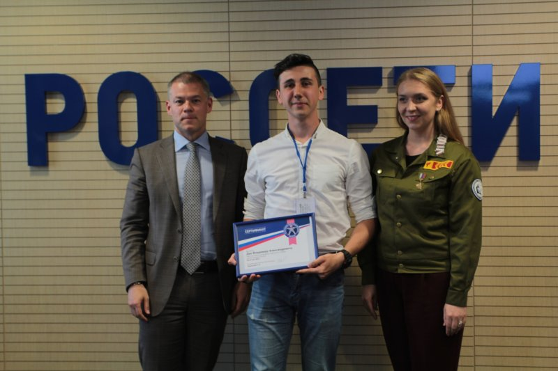 Командир энергетического отряда ЮУрГАУ получил путевку в трудовой семестр