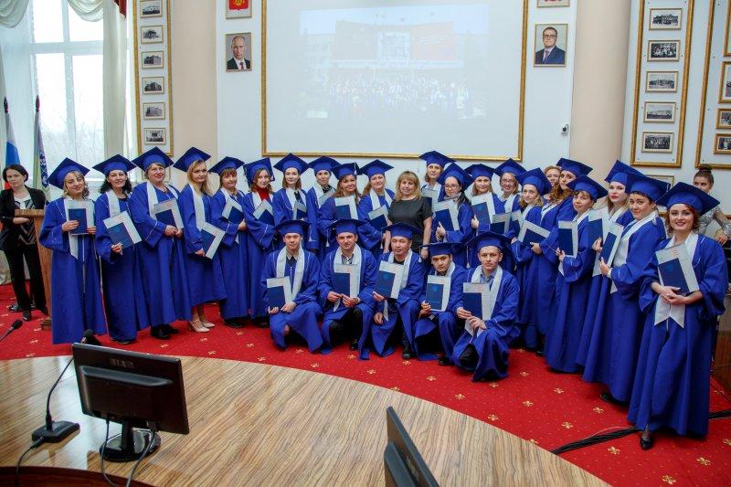 В ЮУрГАУ вручили дипломы выпускникам заочного отделения