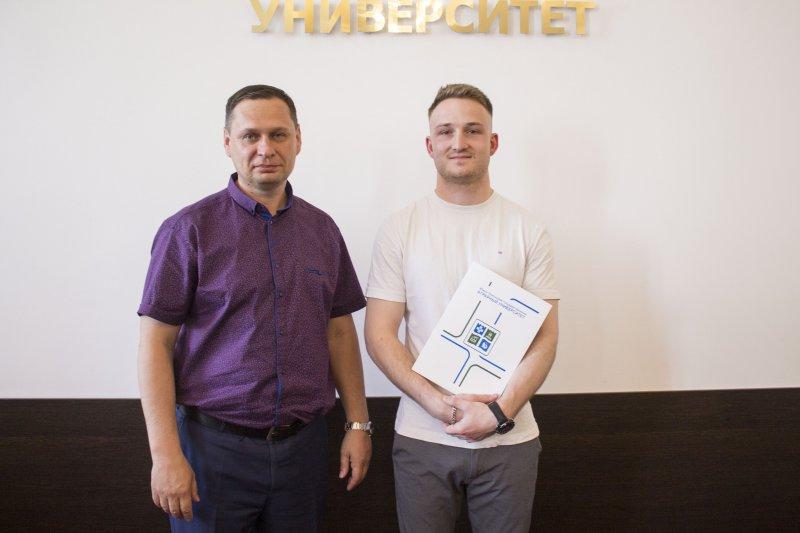 В ЮУрГАУ завершил обучение студент из Франции