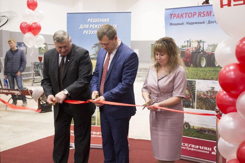 В ЮУрГАУ торжественно открыли лабораторию сельскохозяйственных машин