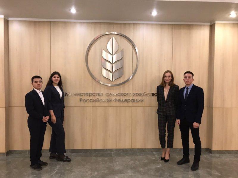 Студенты ЮУрГАУ – финалисты конкурса «Студенческий лидер аграрных вузов-2019»