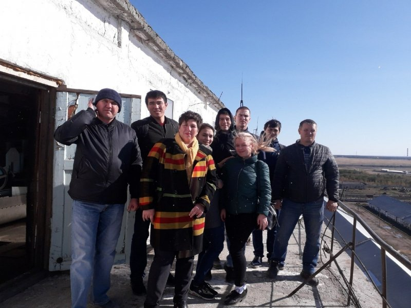 Студенты ЮУрГАУ познакомились с Троицким элеватором