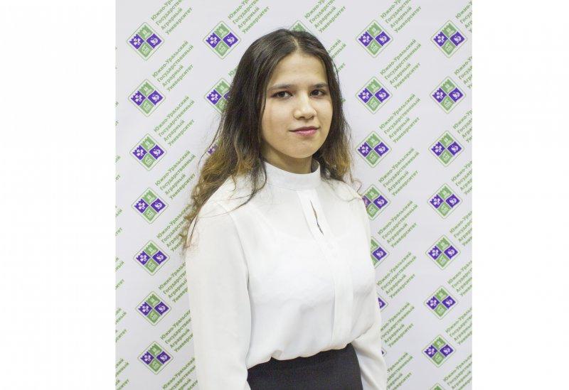 Студентка ЮУрГАУ получила национальную премию А.А. Ежевского