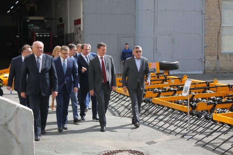 В рамках рабочего визита в Челябинск ЮУрГАУ посетил министр сельского хозяйства Российской Федерации