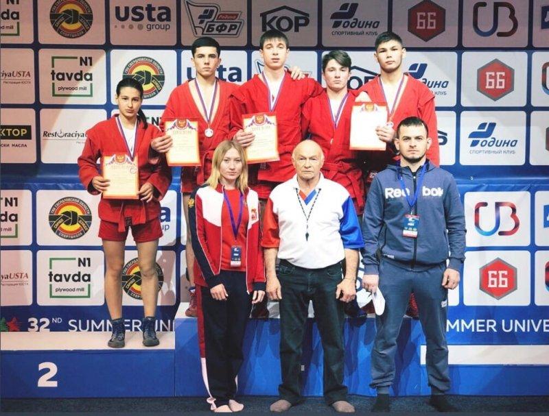 Студенты ЮУрГАУ – призеры первенства УрФО по самбо